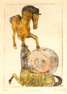 Koně s míčem