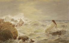 Najáda v mořském příboji (Ankona)