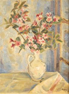 Květy ve džbánku