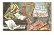 Hudba a malířské zátiší