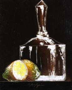 Zátiší s citrónem