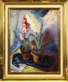 Zátiší s hyacinty