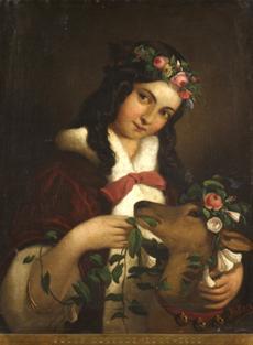 Dívka s kolouškem