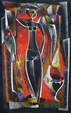 Kubistická žena