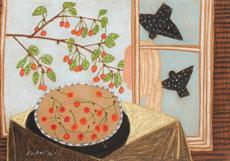 Špačci a třešně