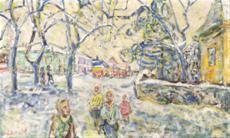 Svatý Kopeček v zimě