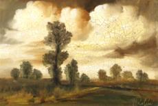 Krajina se stromy
