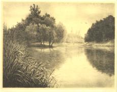 Zámecký park s jezírkem
