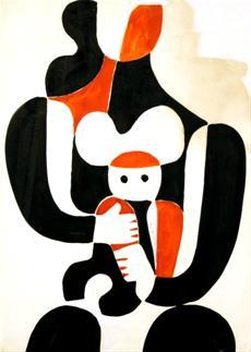 Eva - Mateřství