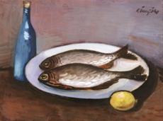 Zátiší s rybami