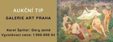 AUKČNÍ TIP - Karel Špillar