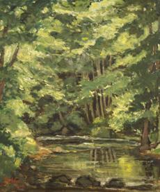 Lesní tůň