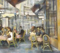 Kavárna v Nice