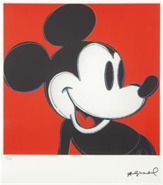Mickey Mouse červený