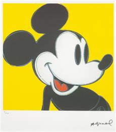 Mickey Mouse žlutý
